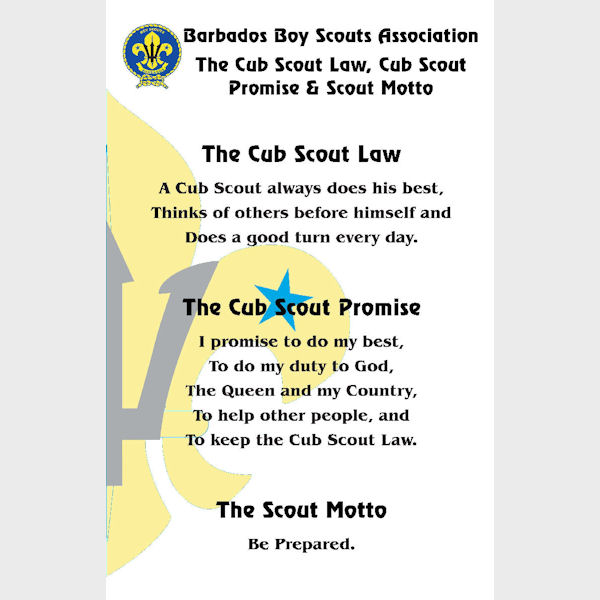 Image Result For Cub Scout Oath